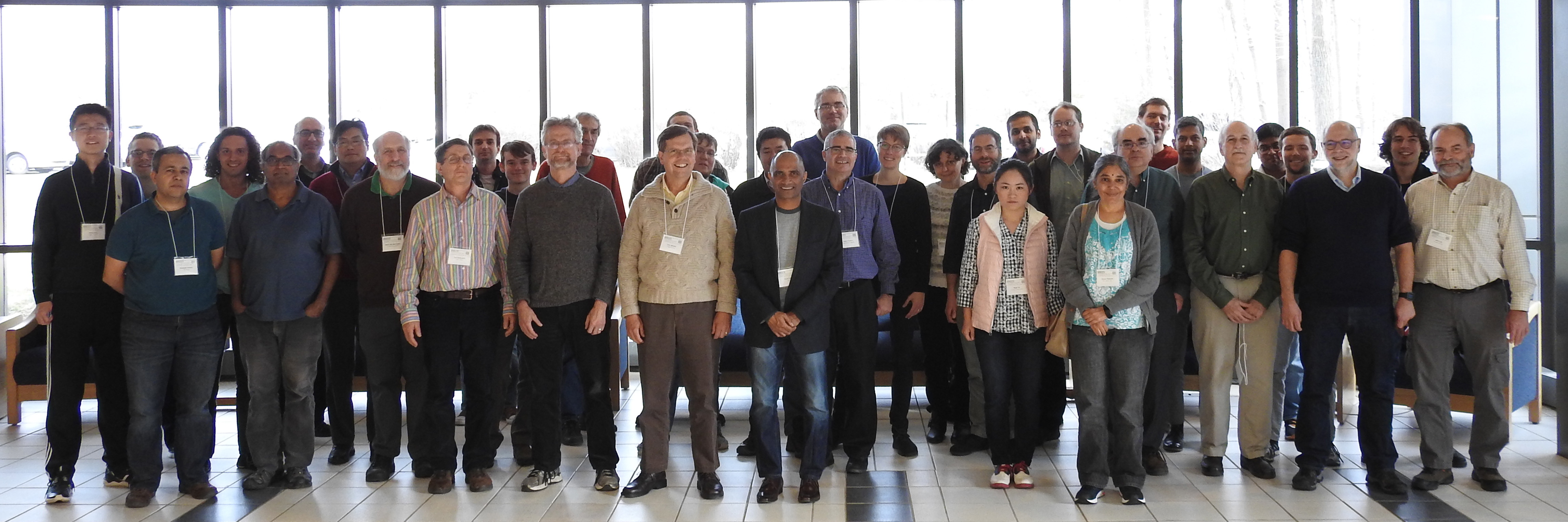 Participants at the E+M=C^2 workshop
