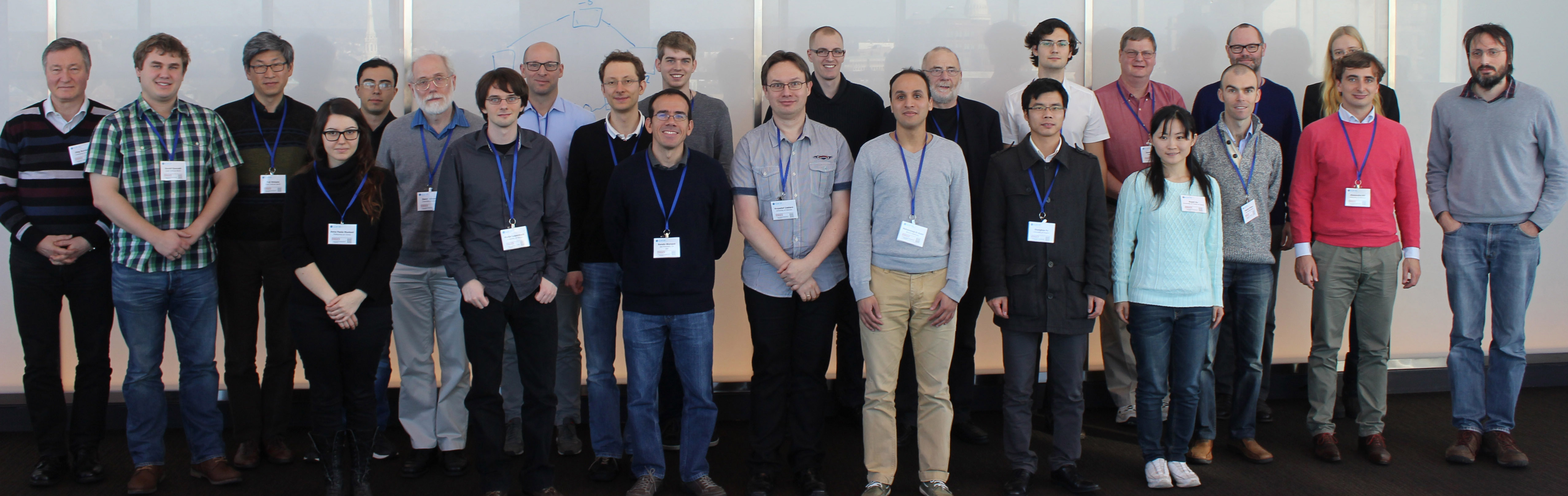 Attendees of the 11th DIMACS Implementation Challenge in